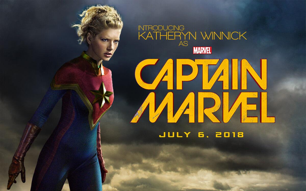 2019年公開のキャプテンマーベル画像 『キャプテン・マーベル』は2019年公開予定のマーベル映