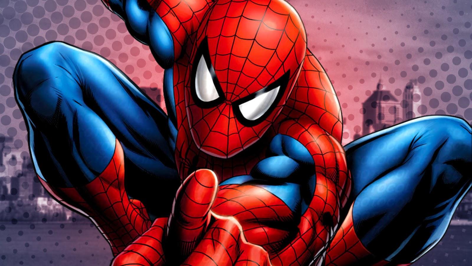 指さしスパイダーマン