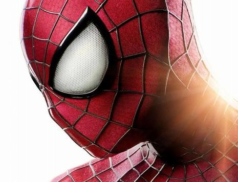 横顔がかっこいいスパイダーマンの画像