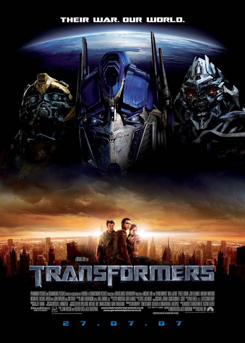 映画トランスフォーマーはこの順番で見よ!シリーズ7作品の時系列と